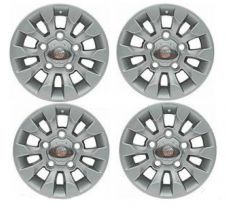 "LAND ROVER DEFENDER SAWTOOTH STYLE ALLOY WHEEL SILVER 16""X 7"" (4)- LR025862MNH"